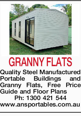 GRANNY FLATS