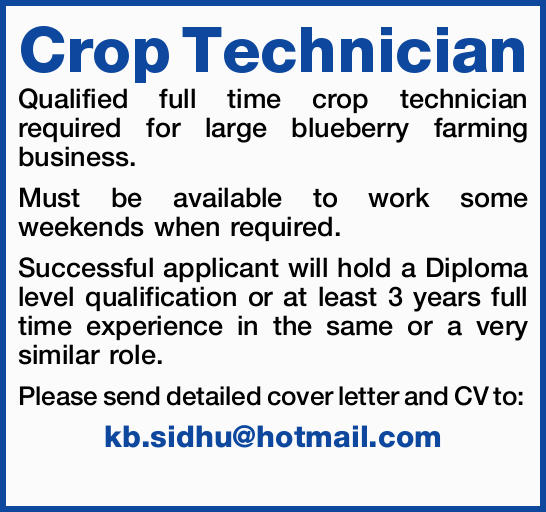 Crop Technician 