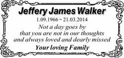Jeffery James Walker