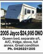 2005 Jayco $24,995 ONO