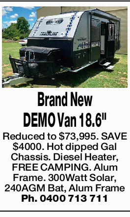 Reduced to $73,995. SAVE $4000. Hot dipped Gal Chassis.