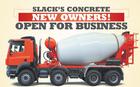 SLACK'S CONCRETE New Owners!