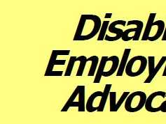Disability Employment Advocates