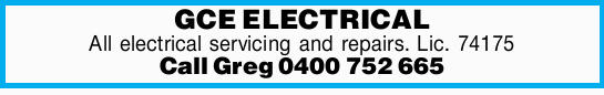 GCE ELECTRICAL