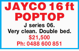 JAYCO 16 ft POPTOP 