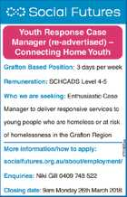 Youth Response Case Manager (re-advertised)