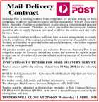 Mail Delivery Contract