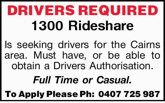 1300 Rideshare