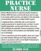 Practice Nurse