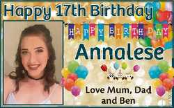 Happy 17th Birthday y Love Mum, Dad d and Ben 6783009aa A Annalese se