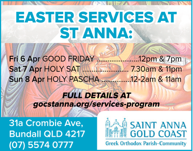 Friday 30th March Good Friday
