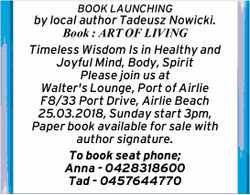 BOOK LAUNCHING