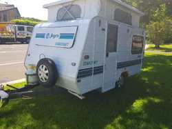 94 jayco Starcraft.14ft  D/bed,gas stove/ oven. 2way fridge. Great condition.