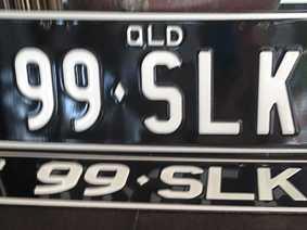 BRAND NEW SLK PLATES - ALSO Q10001 PLATES