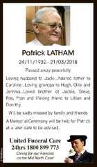Patrick LATHAM