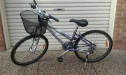 Solid, but needs TLC on chains. Incl. basket and quality helmet and pump.