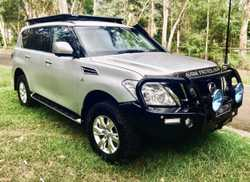 PATROL Y62 TI 2016 ULTIMATE TOURERwith $17,000 worth of accessories. Bull bar, tow bar, sno...