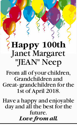 Happy 100th