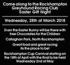 Come along to the Rockhampton Greyhound Racing Club