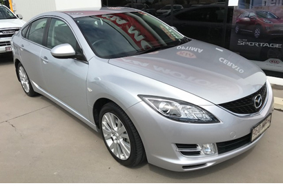 "Mazda 6 Classic Hatch, 2009, 1 owner, always garaged, RWC, E/C, 79,900 kms, 17"" alloys, air..."