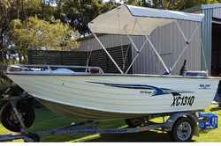 2005 Sea Jay 4.15 Escape, 40hp Yamaha, man start & tilt, sounder, safety gear, boat & tra...