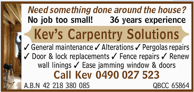 No job too small!