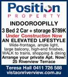 INDOOROOPILLY - AN ELEVATED LIFESTYLE