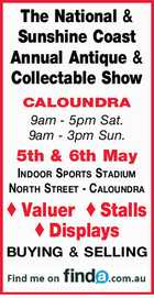 The National & Sunshine Coast Annual Collectable Show