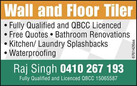 <p> Fully Qualified and QBCC Licenced </p> <ul> <li> Free Quotes</li> <li> Bathroom...</li></ul>