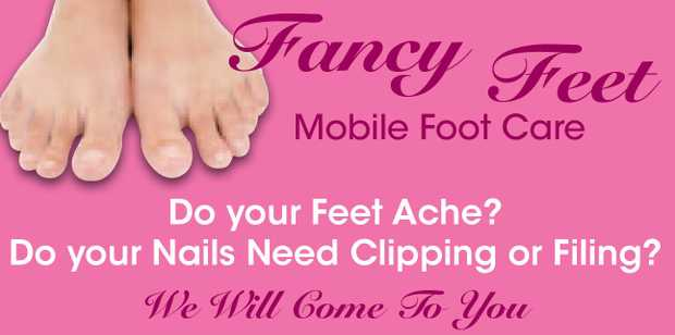 Fancy Feet Mobile Foot Care Do your Feet Ache? Do your Nails Need Clipping or Filing? BALLI...
