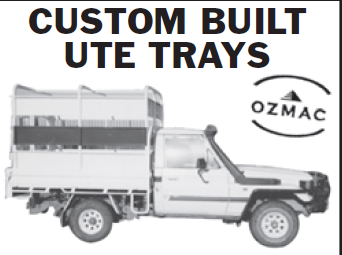 <p> OZMAC </p> <ul> <li> Ute Trays</li> <li> Stock Crates</li> <li> Truck...</li></ul>