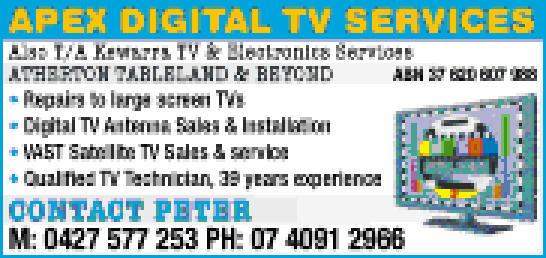 • Repairs to large screen TVs • Digital TV Antenna Sales & Instal...