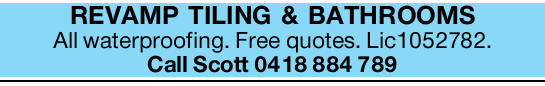 All waterproofing!   Free quotes!   Fully Licensed!   Call Scott Today!