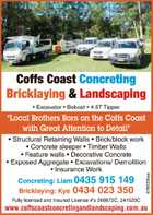 Coffs Coast Concreting & Landscaping
