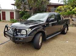NAVARA ST.X D40 4x4 Ute, Sexy Black, imac inside, out and under, 158,000ks, registered, road wort...