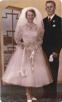 Ron and June Hafey Happy 60th Wedding Anniversary Still going strong  love Kelvin, Kimmaree,  Lee, J...
