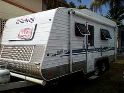BILLABONG 17'6 Grove full ensuite, island bed, timber look finish, 3way fridge, cafe dining...
