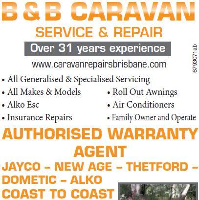 www.caravanrepairsbrisbane.com SERVICE & REPAIR Over 31 years experience • All...
