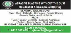 ABRASIVE BLASTING WITHOUT THE DUST 