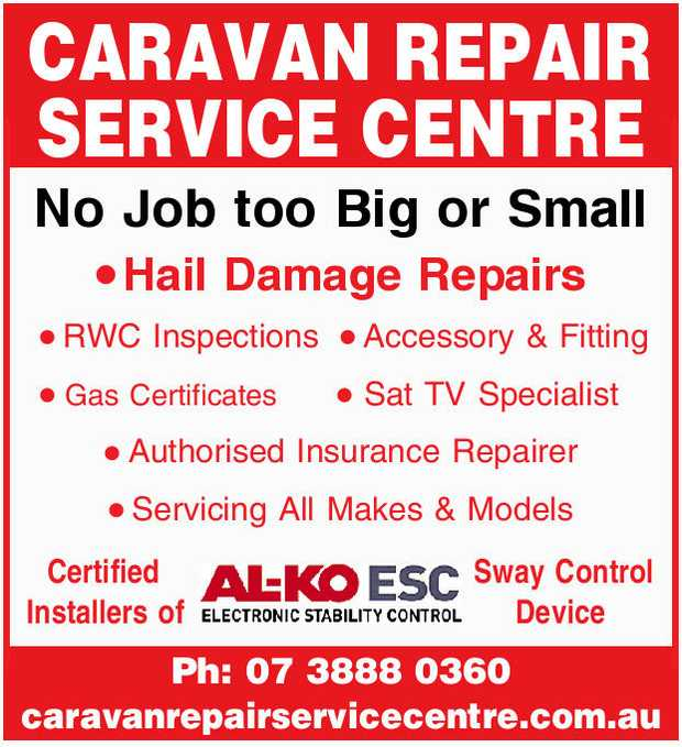 CARAVAN REPAIR SERVICE CENTRE 