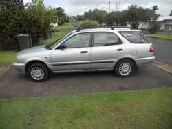1997 Suzuki Baleno Hatchback wagon, seats 5, auto, P/S, A/C, t/bar, 2nd car owner, 55,500 kms, re...