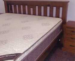 SUPER KING BED Magnificent near new, mattress & side drawers, offers over $2200. Also Electri...