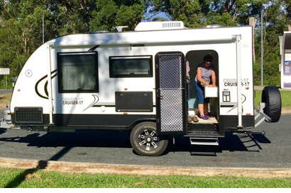 <p> Legend Offroad 17' 2015, registered till April 2019, many extras, shower/toilet, as new...