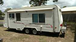 2006 Coromal Princeton 6.02, Dining Area, Kitchen, Aircon, Queen Size Bed, Large DBL Wardrobe, Co...