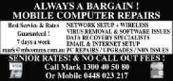 MOBILE COMPUTER REPAIRS&n...