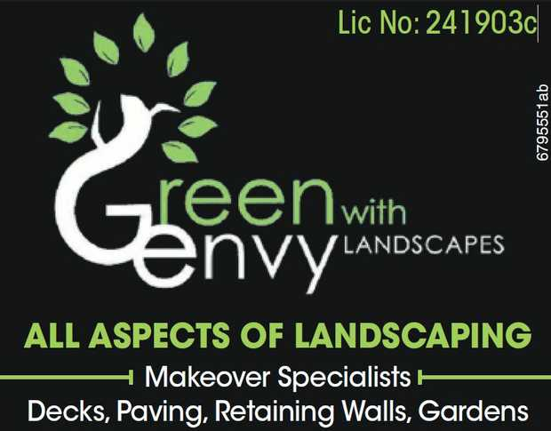 GREEN WITH ENVY LANDSCAPES