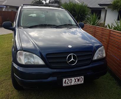<p> MERCEDES ML320 1999, V6 petrol, fully serviced, VGC, 220,000 kms, rego, RWC, $6500 ono. Phone...