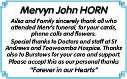 Mervyn John HORN