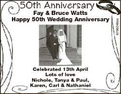 Celebrated 13th April Lots of love Nichole, Tanya & Paul, Karen, Carl & Nathaniel 6796346aa...