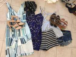 HUGE Ladies Wardrobe Cleanout (8-12) with designer names eg. Shona Joy, shoes, baby girl clothes, ho...
